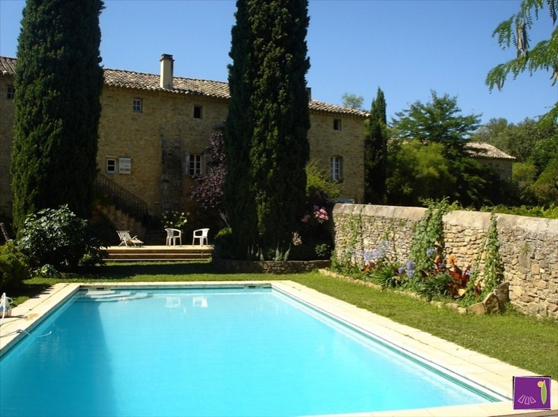 Vente de prestige maison / villa Goudargues 1 260 000€ - Photo 1