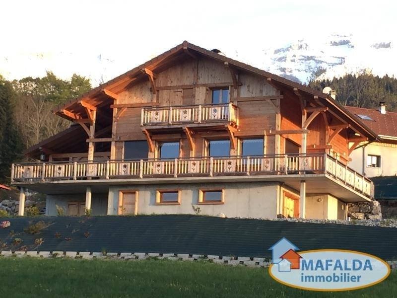 Vente maison / villa Mont saxonnex 498000€ - Photo 1