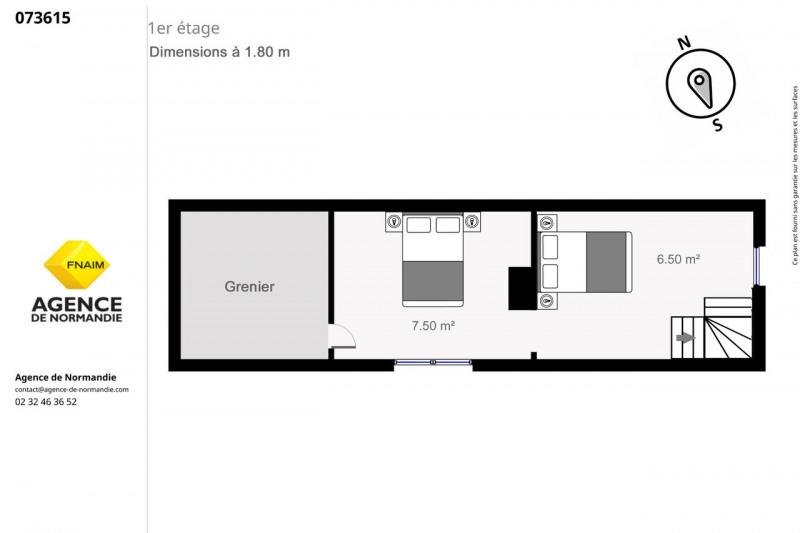 Vente maison / villa Montreuil-l'argillé 73000€ - Photo 4
