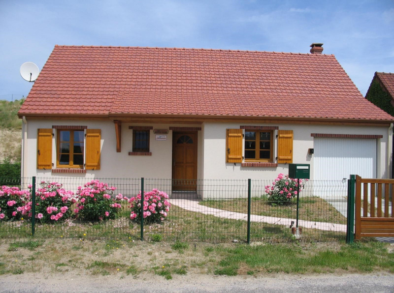 Vacation rental house / villa Fort mahon plage  - Picture 1