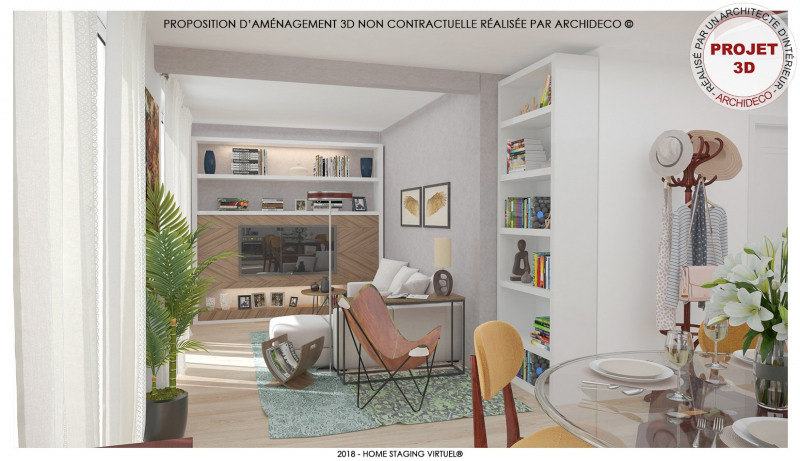 Sale apartment Morieres les avignon 119000€ - Picture 1