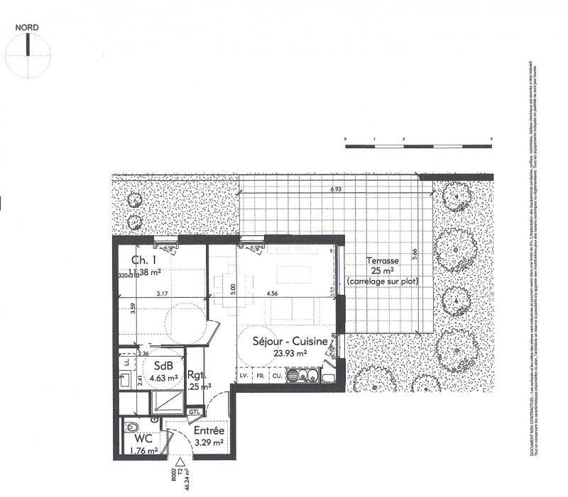 Sale apartment Genas 231927€ - Picture 3