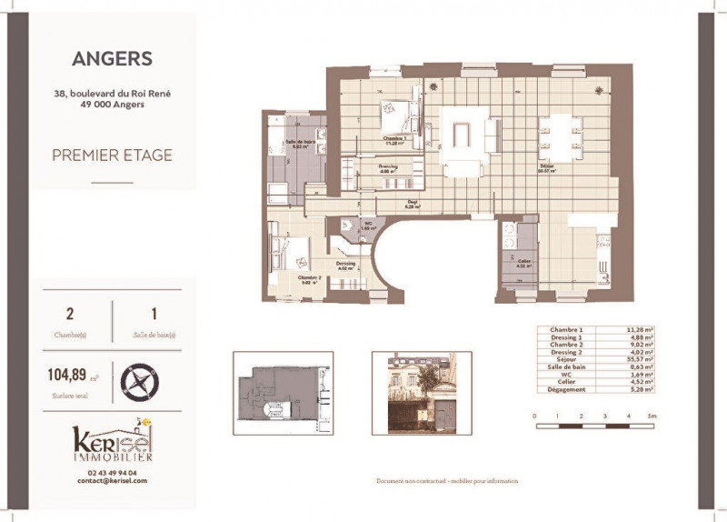 Sale apartment Angers 388000€ - Picture 3