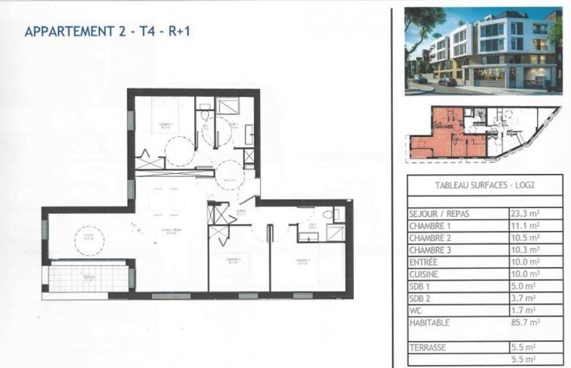 Vente de prestige appartement Antony 475000€ - Photo 3