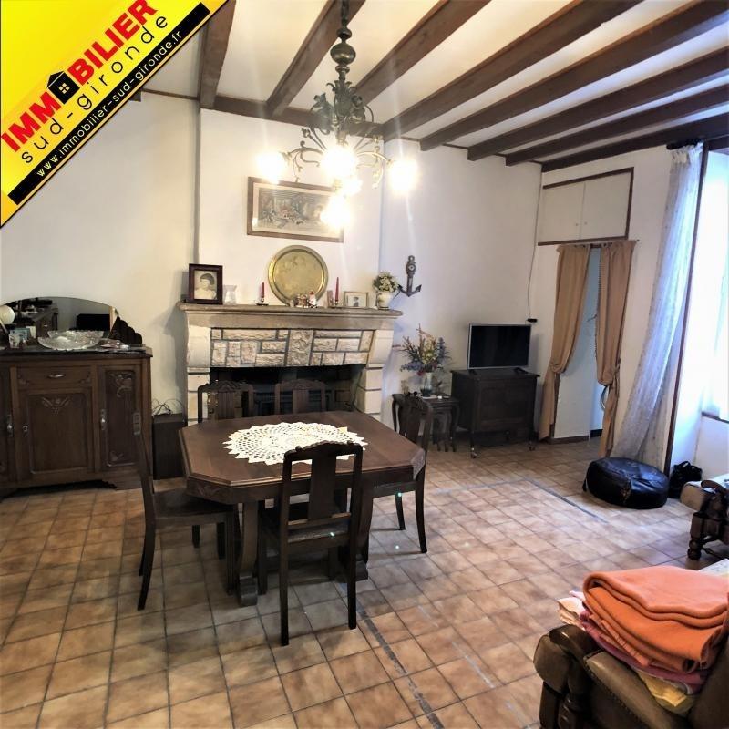Vente maison / villa Podensac 160000€ - Photo 1