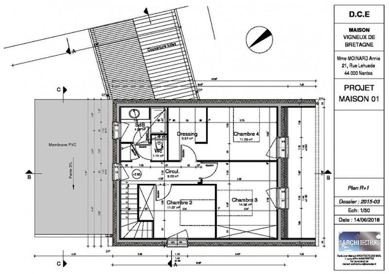 Vente maison / villa Vigneux de bretagne 368900€ - Photo 4