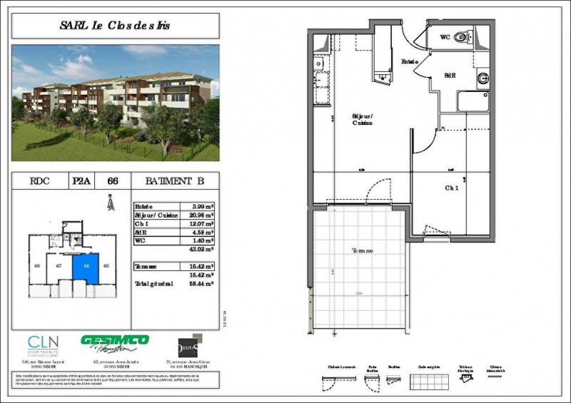 Produit d'investissement appartement Nimes 140000€ - Photo 2