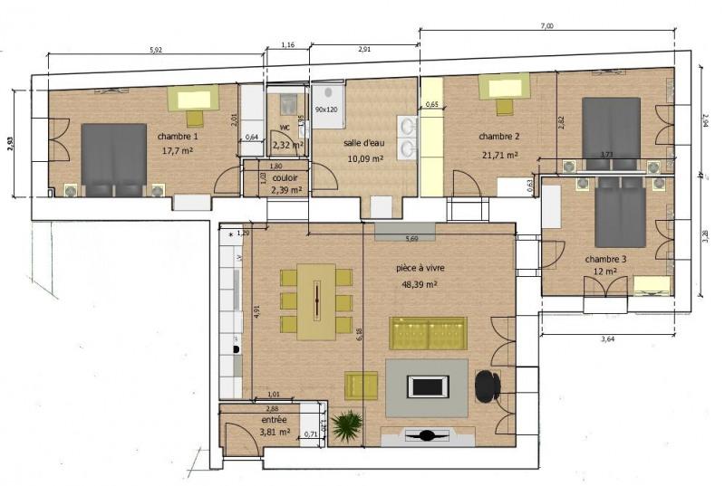 4 / 5 Pièces 129 m² CENTRE VILLE AVEC JARDIN PRIVATIF -