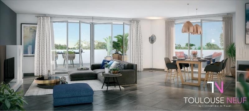 Vente appartement Toulouse 293500€ - Photo 1