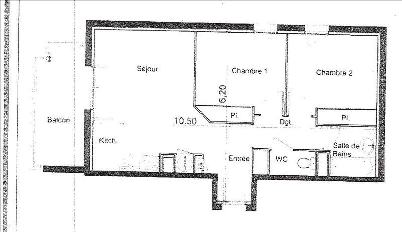 Location appartement Castelnau d'estretefonds 560€ CC - Photo 2