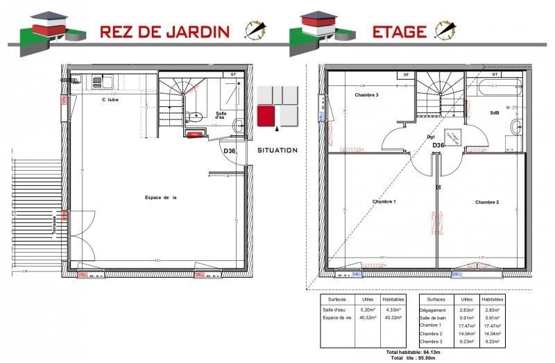 Sale house / villa Jons 295000€ - Picture 5