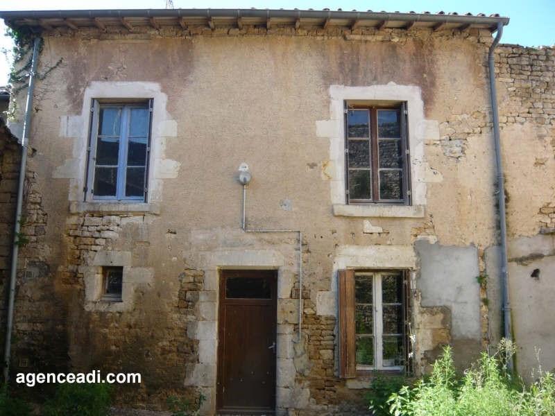 Vente maison / villa Exoudun 24950€ - Photo 1