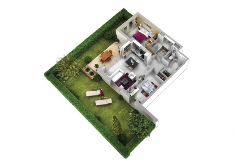 Vente appartement Montpellier 248500€ - Photo 3