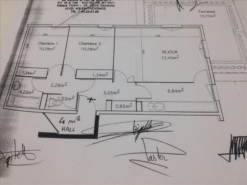 Sale apartment Aix en provence 350000€ - Picture 2