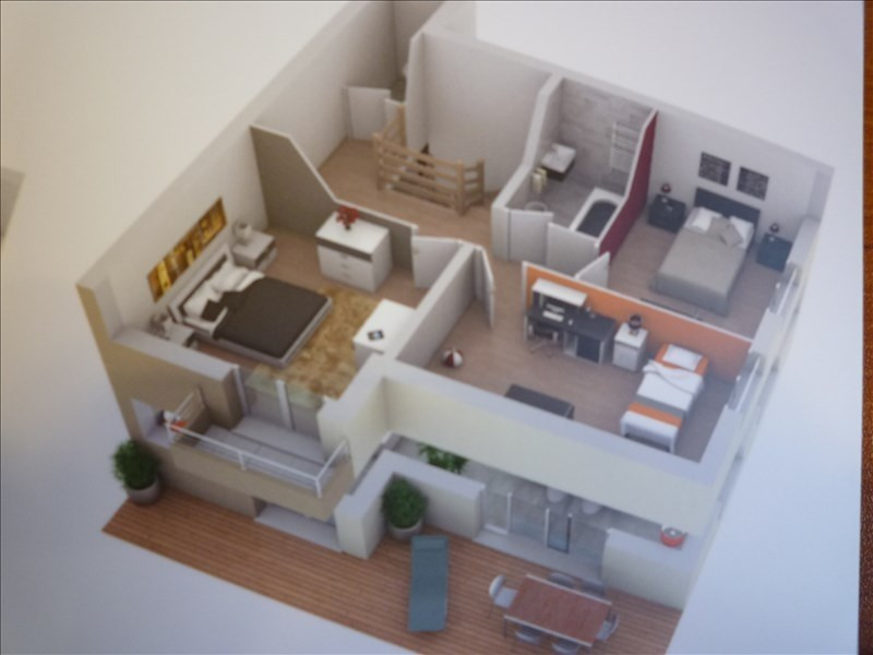 Sale apartment Jonzier epagny 380 000€ - Picture 4