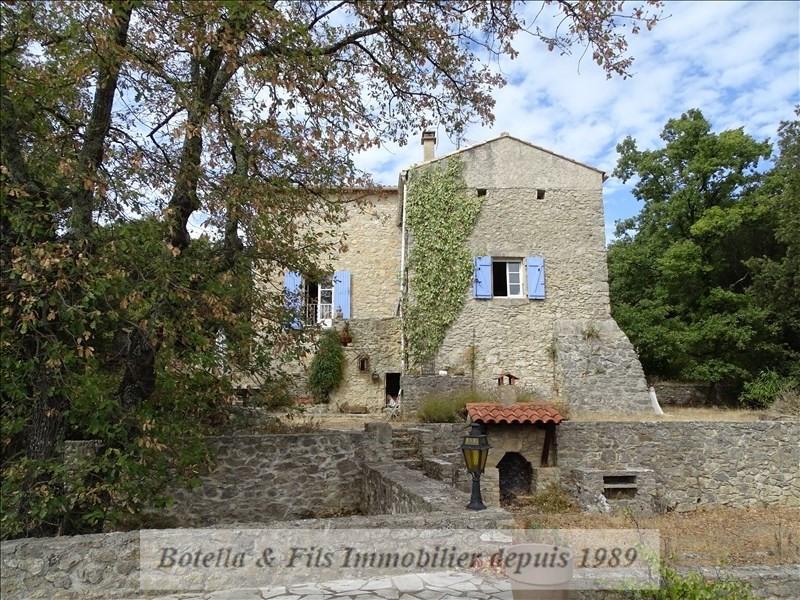 Vente de prestige maison / villa Uzes 616000€ - Photo 1