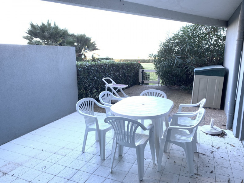 CANET SUD F2 bis terrasse accès direct plage
