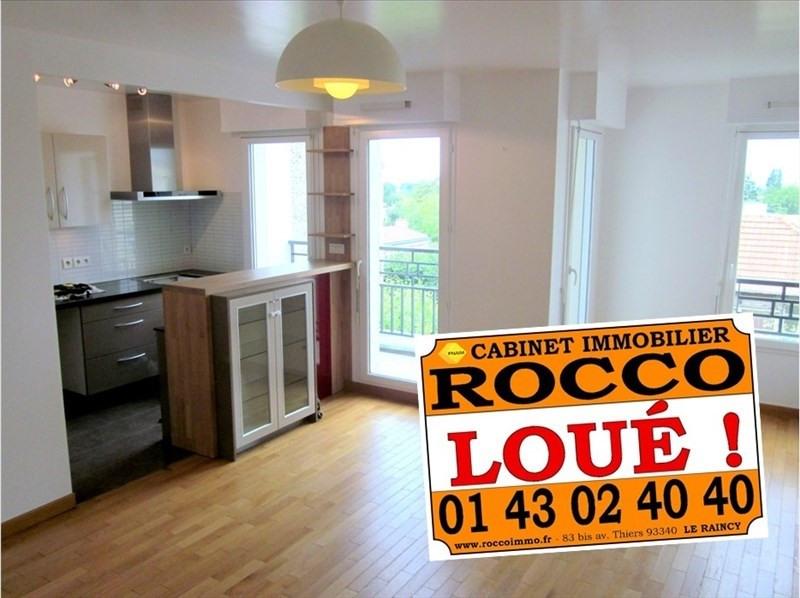 Location appartement Le raincy 1205€ CC - Photo 1