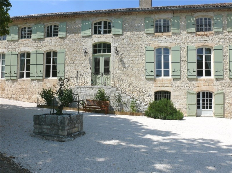 Deluxe sale house / villa Laroque timbaut 1 352 000€ - Picture 9