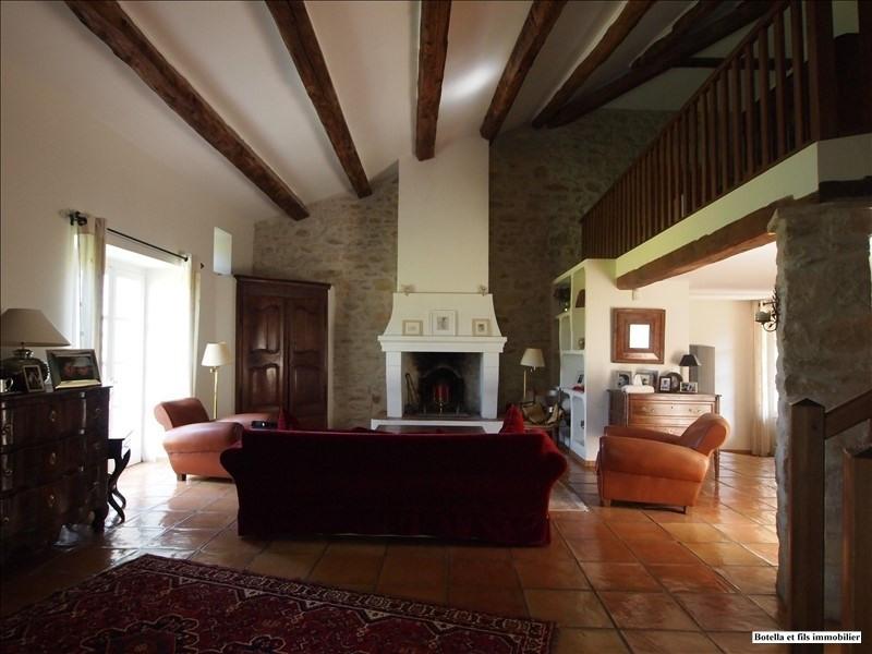 Deluxe sale house / villa Uzes 795000€ - Picture 1