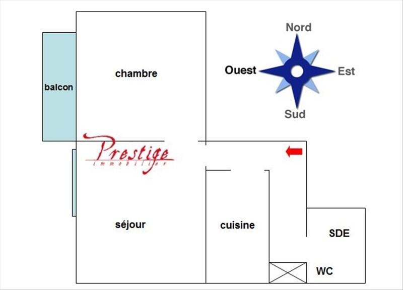 Sale apartment Paris 18ème 390000€ - Picture 4