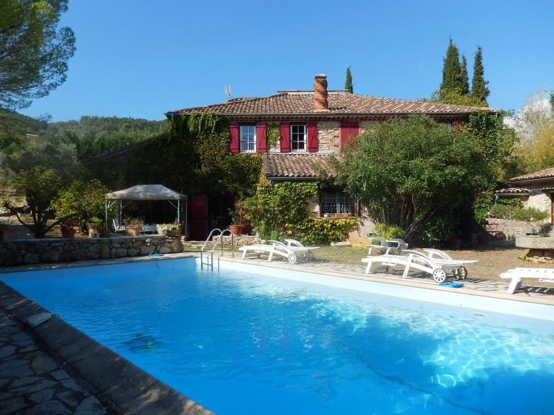 Deluxe sale house / villa Figanieres 700 000€ - Picture 1