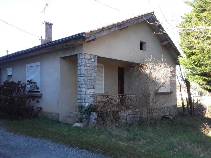 Rental house / villa Montredon labessonnie 525€ CC - Picture 1