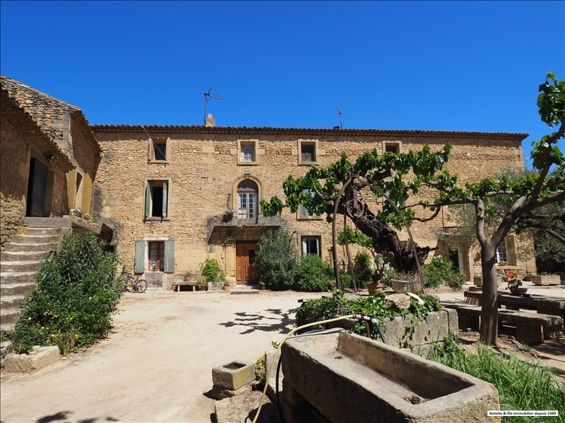 Deluxe sale house / villa Uzes 530000€ - Picture 1
