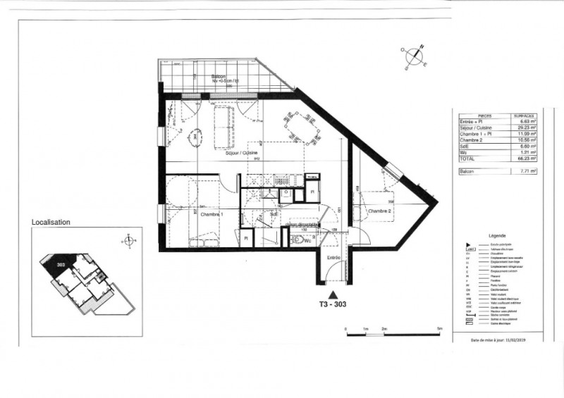 Vente appartement Tours 240000€ - Photo 5