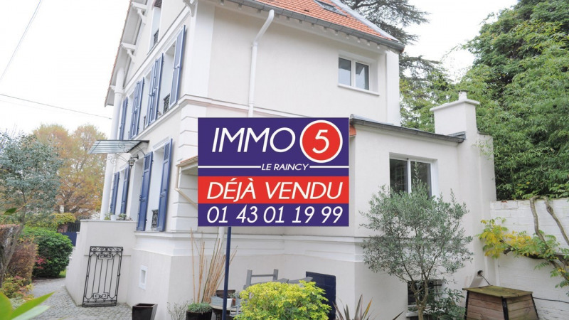 Vente maison / villa Le raincy 525 000€ - Photo 1