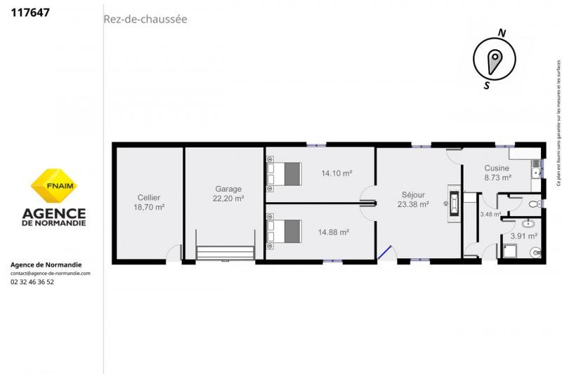 Sale house / villa Montreuil-l'argillé 117290€ - Picture 6