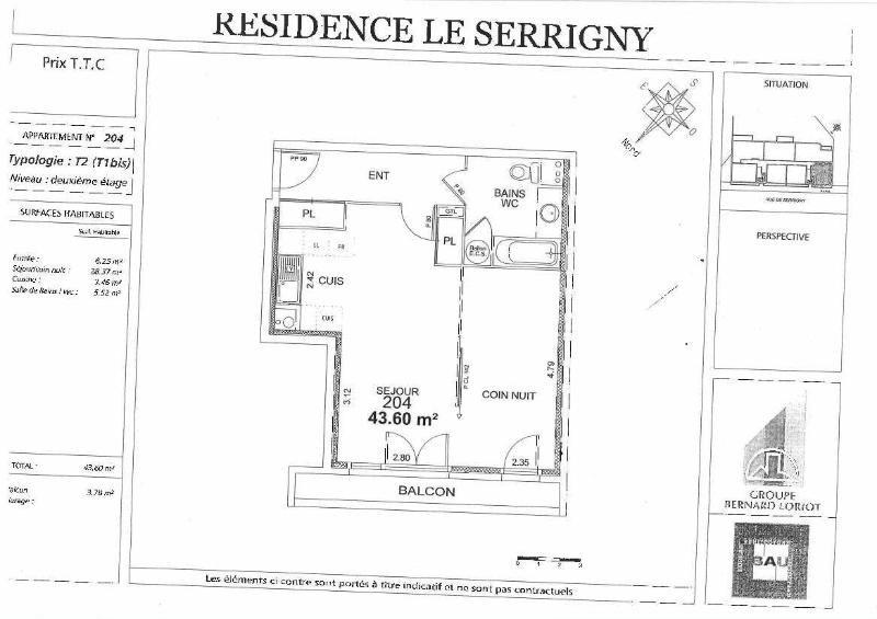 Location appartement Dijon 550€ CC - Photo 5