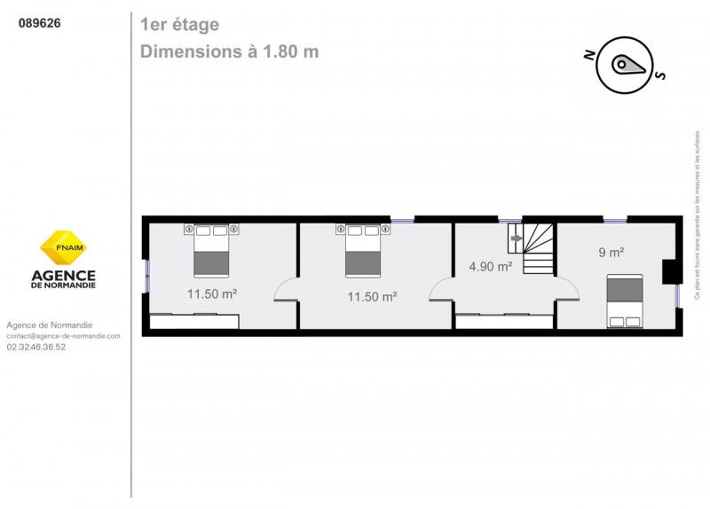 Vente maison / villa Montreuil-l'argillé 89500€ - Photo 8