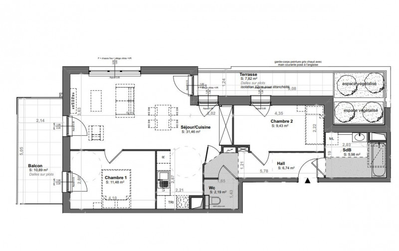 Sale building Strasbourg 304000€ - Picture 1