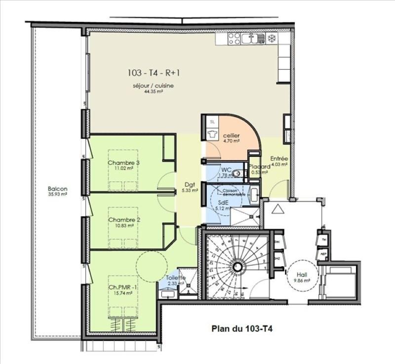 Vente appartement Niort 310963€ - Photo 2