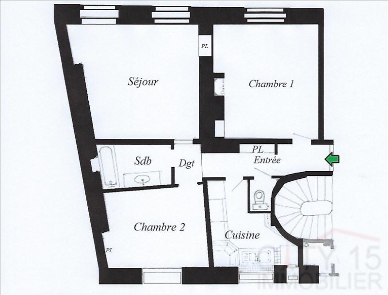Vendita appartamento Paris 15ème 629000€ - Fotografia 6