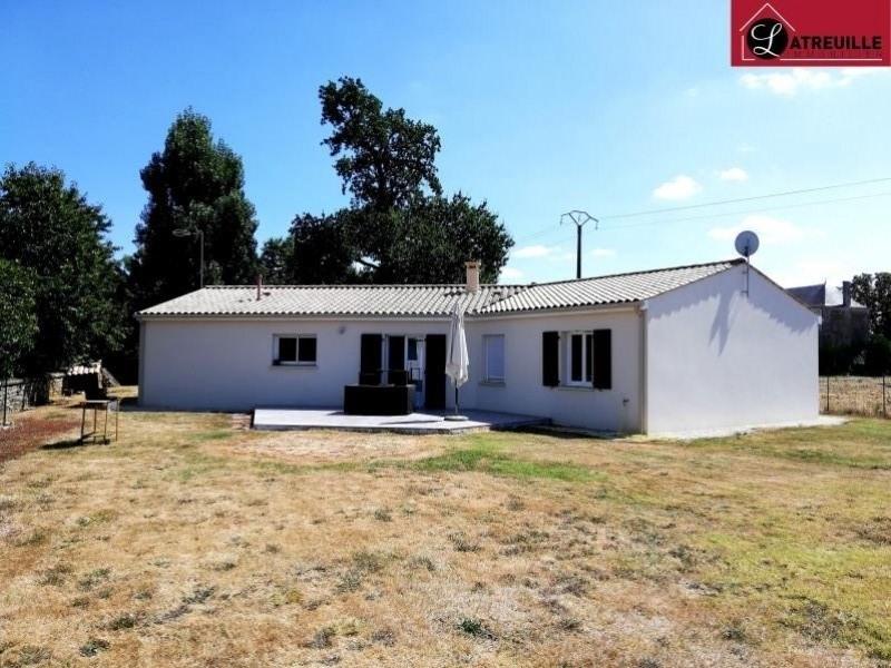 Vente maison / villa Gemozac 190000€ - Photo 1