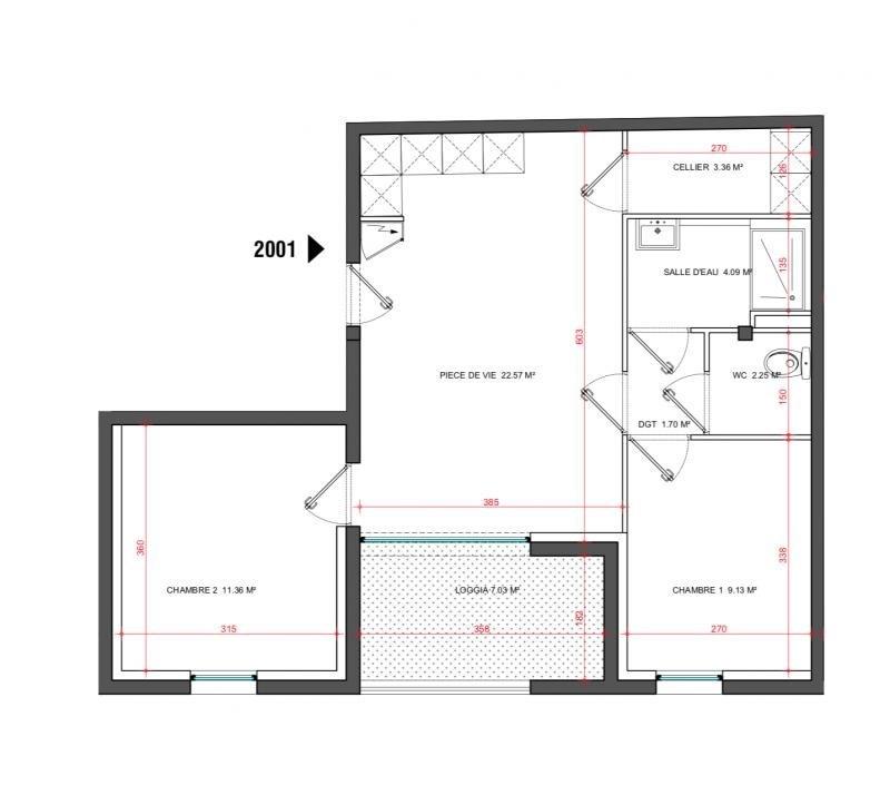 Vente appartement Le grau du roi 265000€ - Photo 2
