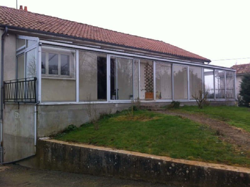 Location maison / villa Menigoute 630€ CC - Photo 1