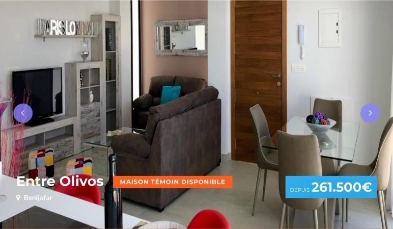 Vente maison / villa Benijofar 261500€ - Photo 1
