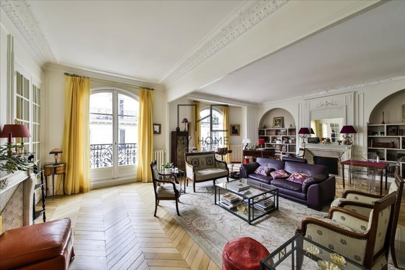 Deluxe sale apartment Paris 17ème 2 850 000€ - Picture 1