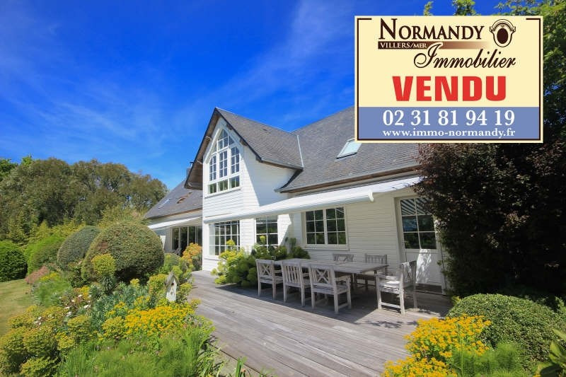 Vente de prestige maison / villa Gonneville sur mer 795000€ - Photo 1