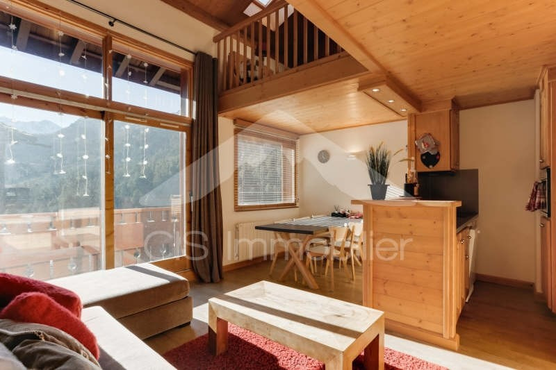 Deluxe sale apartment Meribel 690 000€ - Picture 1