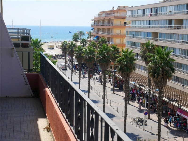 Sale apartment Canet plage 190 000€ - Picture 1