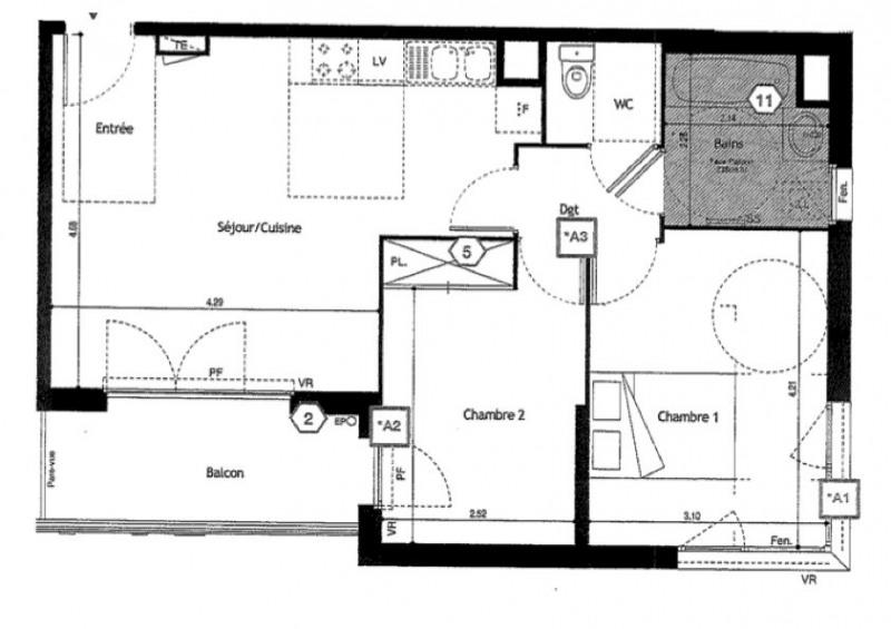 Location appartement Villeurbanne 980€ CC - Photo 10