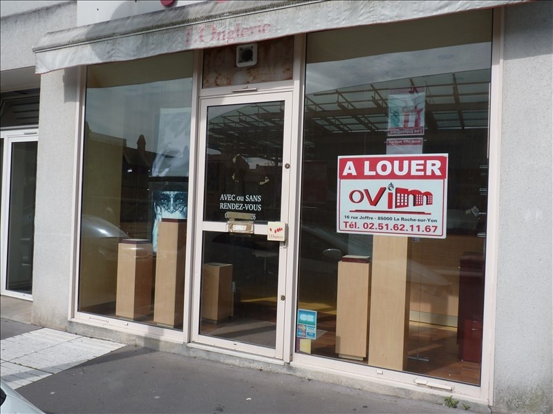 Location local commercial La roche sur yon 600€ HT/HC - Photo 2