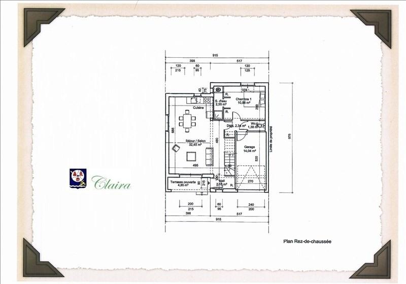 Vente maison / villa Claira 207630€ - Photo 2