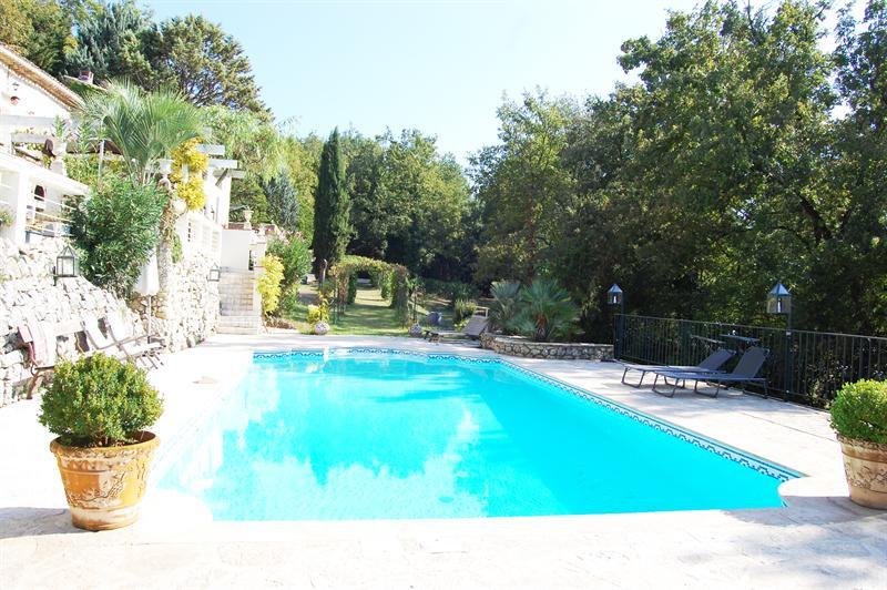 Revenda residencial de prestígio casa Le canton de fayence 895000€ - Fotografia 3