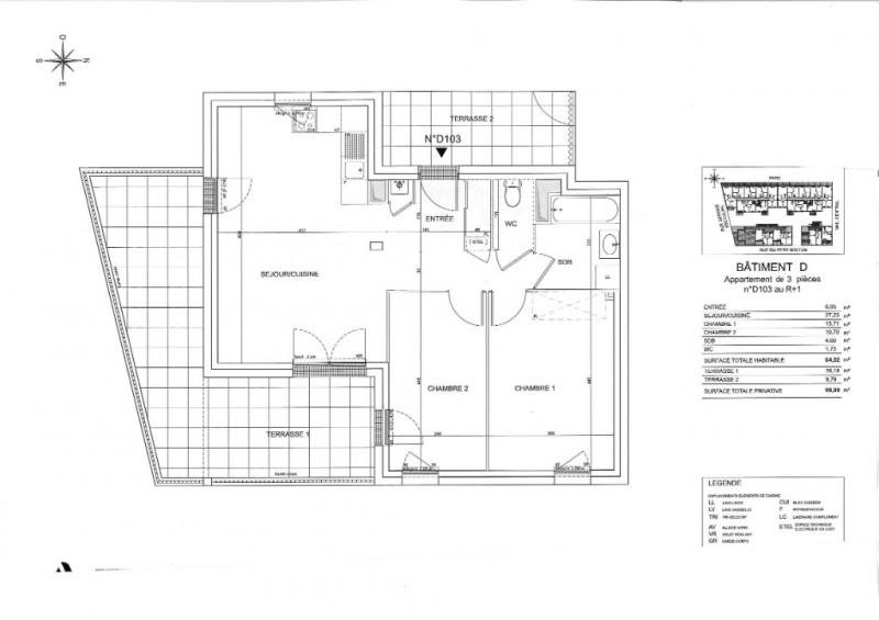 Sale apartment Saint nazaire 218000€ - Picture 6