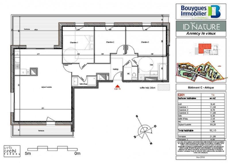 Deluxe sale apartment Annecy le vieux 599000€ - Picture 2